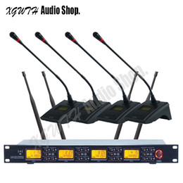$enCountryForm.capitalKeyWord NZ - UHF 4 Channel Digital Wireless Microphone System With 4 Gooseneck Conference Receiver Transmitter Set Microphone Profession