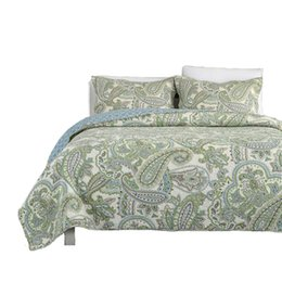 $enCountryForm.capitalKeyWord NZ - Free shipping American style bohemian national style 3pcs patchwork quilt full queen size air condition bed cover bedspread AN