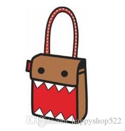 $enCountryForm.capitalKeyWord Australia - FZMBAI Top cartoons school bag 2d shoulder bag cross-body handbag personality 3d three-dimensional bag