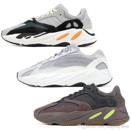 With Box Top Quality Yeezys Yezzy Yezzys Yeezy 2019 Wave Runner running  wsqsb 700 shoes for men women Static 3M Mauve Multi Solid Grey mens  trainers fashion ... d5cf020aa