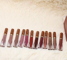 $enCountryForm.capitalKeyWord NZ - Melted matte Gingerbread liquid lipsticks 12 colors waterproof long-lasting gingenarfad scenked lipgloss DHL Free lips cosmetics