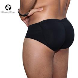 3bb1e6945ef Minifaceminigirl Men s Slimming Padded Underwear Tummy Control Shorts  Seamless Butt Lifter Hip Enhancer Shaper Briefs Shapewear