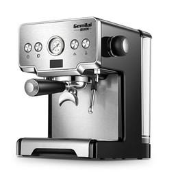 15 Bar Pressão Semi-Auto Máquina De Café Expresso Italiana CRM-3605 Commericial Máquina De Café 220 V 1.7L Tanque De Água Máquina De Café em Promoção