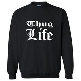 $enCountryForm.capitalKeyWord Australia - Thug Life pattern sweatshirt men cotton hoodies autumn clothes best xmas gift for dad