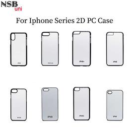 $enCountryForm.capitalKeyWord Australia - Nsbuni Sublimation Blank 2d Pc Hard Case For Iphone Pc Print Phone Case Picture Photo Printing Plain Cell Phone Case