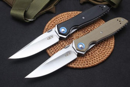9cr18mov blade online shopping - ZT Zero Tolerance ZT0372 Cr18MoV Ball bearing system G10 ZT Folding Knife xmas gift knife for man freeshipping