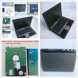 laptop car analyzer Canada - used Laptop D630 PC with car Auto Repair Alldata Soft-ware V10.53, Mitch*ll 2015, ATSG 3 in 1000GB HDD