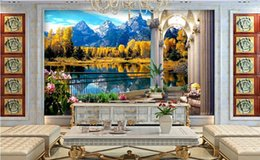 $enCountryForm.capitalKeyWord Australia - 3d photo wallpaper custom livingroom custom mural Balcony, snow mounta down out of wall painting 3d mural wallpaper room decoration painting