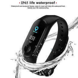 Smart watch health heart rate online shopping - M3 Plus Smart Wristband Heart Rate Monitor Smart Bracelet Watch Tracker Smart Band Outdoor Health Wristbands