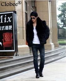 $enCountryForm.capitalKeyWord Australia - fur coat men Chaquetas Hombre 2019 Winter Mens Jackets Coats Plus Size 6XL Turn-down Collar Short Synthetic Fox Fur Overcoat S69