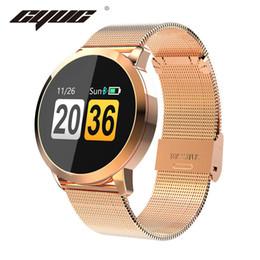 $enCountryForm.capitalKeyWord Australia - CYUC Q8 Smart Watch OLED Color Screen men Fashion Fitness Tracker Heart Rate Blood Pressure Oxygen Smartwatch