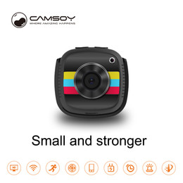 wearable camcorder Canada - Smart wifi mini camera Full HD 1080P Night vision wearable mini boby camera wireless remote home security surveillance video camcorder C9