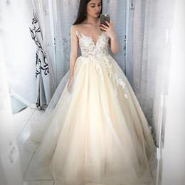 Sheath Wedding Dresses Split Australia - 2019 New Split Lace Steven Khalil Wedding Dresses With Detachable Skirt Sheer Neck Long Sleeves Sheath High Slit Overskirts Bridal Gown