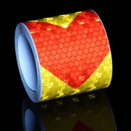 3m reflective tape car online shopping - 5CMx300cm M Adhesiva Reflectante Film Tape Stickers Car Styling Self Adhesive Warning Tape Automobiles Reflective Film Arrow