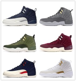 $enCountryForm.capitalKeyWord Australia - 12 12s Flu game GAMMA BLUE Men Basketball Shoes 2019 CNY Chinese New Year White Gold XII Winterized black Royal Sports Sneakers