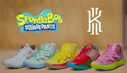Mountain sneakers online shopping - New Brand Kyrie Sponge Bob Men Basketball Shoes s Trainers Kyrie Irving Squidward Mountain Oreo Friends Patrick Sports Sneakers