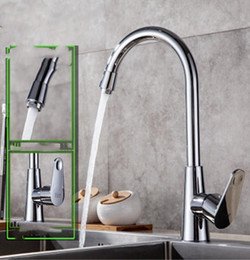 $enCountryForm.capitalKeyWord Australia - Modern kitchen faucet sink plating hot and cold faucet alloy copper bottom Kitchen faucet alloy + copper