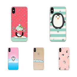 huawei 4c honor UK - Custom For Huawei Honor 4C 5A 5C 5X 6 6A 6X 7 7A 7C 7X 8 8C 8S 9 10 10i 20 20i Lite Pro Lovely Phone Case Lovely Penguin