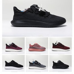 1175cca07e3c5 2019 Best quality Tubular Shadow 350 Triple Black Grey Pink Breathable Running  Shoes for Discount Men Women Sports Trainers Size 36-45