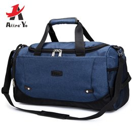 Discount pouch travel clothes - ATTRA-YO Men's Large Capacity Travel Bag Women Business Weekend Bags Clothes Carry On Duffle Pouch Organizer Should
