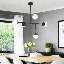 $enCountryForm.capitalKeyWord Australia - Modern Creative Restauramt Pendant Light Loft Art Molecular Glass Balls Livingroom Study Led Hanging Light Fixtures 110v 220v