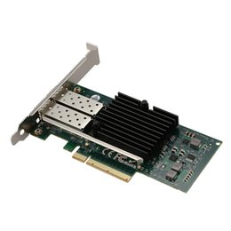 Intel Wireless Pci UK - Network card for Intel E10G42BTDA 82599ES Chip 10GbE Ethernet Converged Network Adapter,PCI-E X8 Dual SFP+ Port