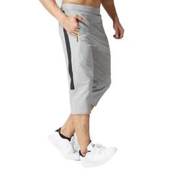 $enCountryForm.capitalKeyWord Australia - Mens Casual Cotton Pants Trousers 2017 New joggers Men'S Pure Color 3 4 Leggings Leisure Foot Trousers Multicolor L-4XL