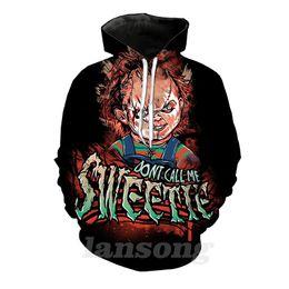 Tees Hoodies Australia - seed of chucky 3d print hoody tee shirts sweatshirt hoodie pants men harajuku funny pullover tracksuit streetwear hip hop jacket