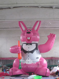 inflatable for event party decoration Australia - 6m 20ft customed inflatable rabbit for adversing Easter decoration party events design balloon hare cartoon used in stage