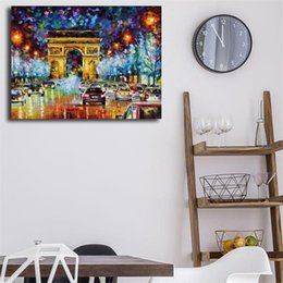 $enCountryForm.capitalKeyWord Australia - Paris Flight Wall Art Canvas Poster And Print Canvas Painting Decorative Picture For Office Kitchen Bedroom Home Decor Framework