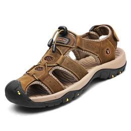 $enCountryForm.capitalKeyWord Australia - men's casual shoes leather sandals mens roman sandals man summer shoes male comfortable shoe beach Fashion
