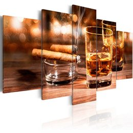 $enCountryForm.capitalKeyWord UK - 5 panel Cigars Wine Multi-pictures 5d diy Diamond painting full Square round Mosaic Diamond Embroidery wedding decor wall art