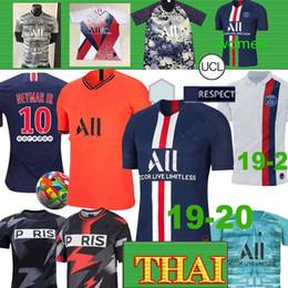 Soccer goalkeeper online shopping - Thai Maillots PSG soccer jersey Paris MBAPPE DIALLO CAVANI training football shirt goalkeeper Men Women Kids kit XXS XL