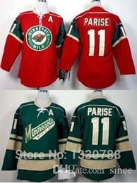 Discount parise jersey youth - 2016 New, New Year Minnesota Wild Youth Jersey #11 Zach Parise Home Red Green Alternate Cheap MN Wild Kids Hockey Jersey