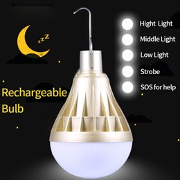 Wholesale Led Lamp Smart Bulb Bombillas LED Light Ampoule Leds Lamps USB Rechargeable Home Lights Bulbs Emergency for Camping Lighting