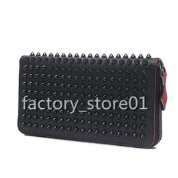 Spiked handbagS online shopping - 2019 New Fashion Women s Clutch Bag Genuine Leather Women Envelope Studded Spikes Bag Clutch Evening Bag Female Clutches Handbag
