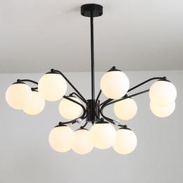 Ball Bedroom Lights NZ - Pendant lights led magic ball pendant lamps for villa living room dinning room bedroom Nordic modern ceiling pendant chandeliers lightings