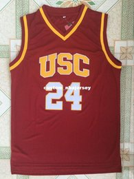 $enCountryForm.capitalKeyWord NZ - Cheap custom Southern California USC #24 Brian Scalabrine Basketball Jerseys Red Stitched Customize any number name MEN WOMEN YOUTH XS-5XL