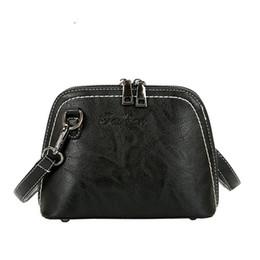 Camel Bag Sale NZ - good quality Women Small Messenger Bags In Women's Totes Vintage Pu Leather Shell Shoulder Bags Women Designer Crossbody Bag Hot Sale