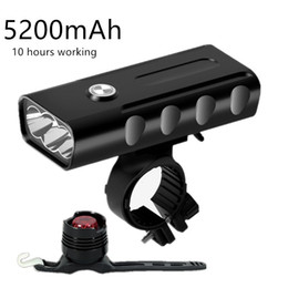 $enCountryForm.capitalKeyWord NZ - Bike Built-in 5200mAh Battery XM-L T6 Front Light Induction Bicycle Bright USB Charging Flashlight Cycling & Tail Light #618883