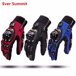 Wholesale Motorcycle Gloves Motorcycle Riding Gloves Men s Racing Locomotive Knight Anti Slip Breathable BMX ATV MTB MX Gloves Motorbike Best Quality
