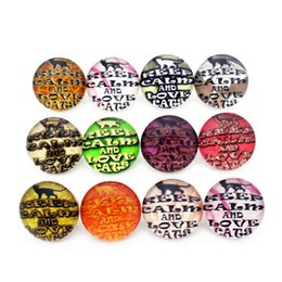 $enCountryForm.capitalKeyWord Australia - 20pcs lot 18mm dragonfly birdie Glass Snap Buttons Charms Fit Snap Bracelet Necklace DIY Jewelry E mail treasure
