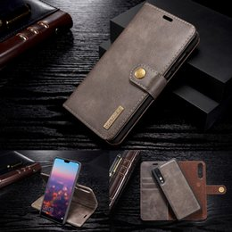 $enCountryForm.capitalKeyWord NZ - For Huawei Mate20 P20 P30 Pro Vintage Flip Magnetic Case For Huawei P20 Mate 20 P30 lite Case Leather Detachable Wallet Cover