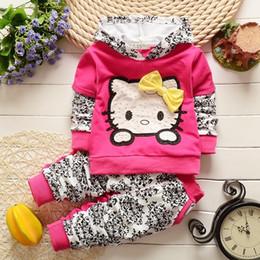 $enCountryForm.capitalKeyWord Australia - good quality Children Girl Clothing Sets Costume For Girls Fashion Cartoon Hooded Jacket Tops + Pants 2Pcs Set Kids Girls Clothes