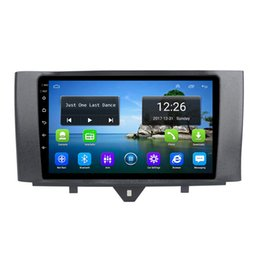 mercedes gps radio UK - Android 4G LTE HD 1080P car free map front camera fsat delivery excellent bluetooth for Mercedes Benz smart fortwo 2011-2015 9inch