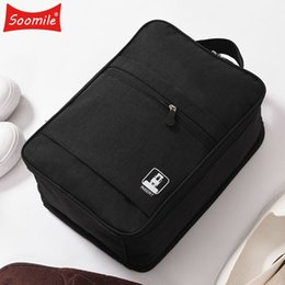 $enCountryForm.capitalKeyWord Australia - Soomile travel portable multi-function nylon shoe bag Travel organizer Men and Women Hand luggage bags Solid color shoe bag