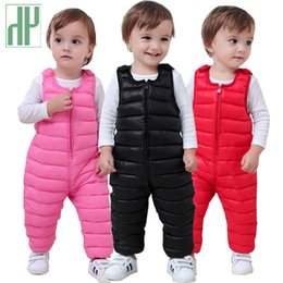 $enCountryForm.capitalKeyWord Australia - Children Pants For Girls Leggings Cotton Warm Winter Toddler Trousers Boys Pants Waterproof Kids Pants Outwear Baby Overalls