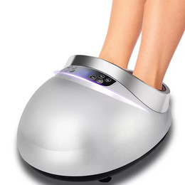 Wholesale Electric Foot Massager Far Infrared Heating Kneading Air Compression Reflexology foot Massage Device Home Relaxation by DHL