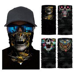 $enCountryForm.capitalKeyWord Australia - 3D Bandana Cycling Magic Bandana Scarf skull Hiking Neck Warmer Face Mask Head Shield Headband Headwear Men Bicycle Fishing