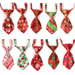 $enCountryForm.capitalKeyWord Australia - Christmas Pet Supplies Pet Dog Cat Xmas Neckties Bowties Santa Deer Dog Apparel Grooming Accessories Small-Middle Ties 100pcs